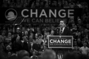 Barack Obama in Madison by studiofovea