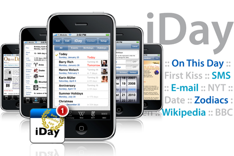 iDay with Push – never will forget important days!