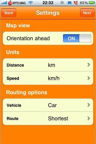 [iPhone] Roadee – Online Navigations Software