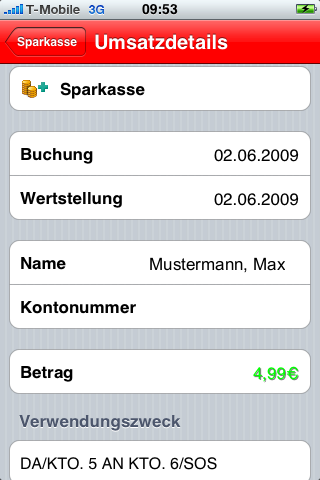[iPhone] S-Banking im App-Store