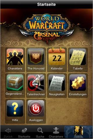 [iPhone] World of Warcraft App ist erhältlich
