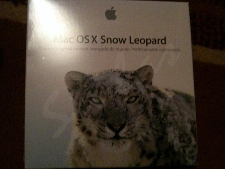 Erste Bilder der Snow Leopard Verpackung