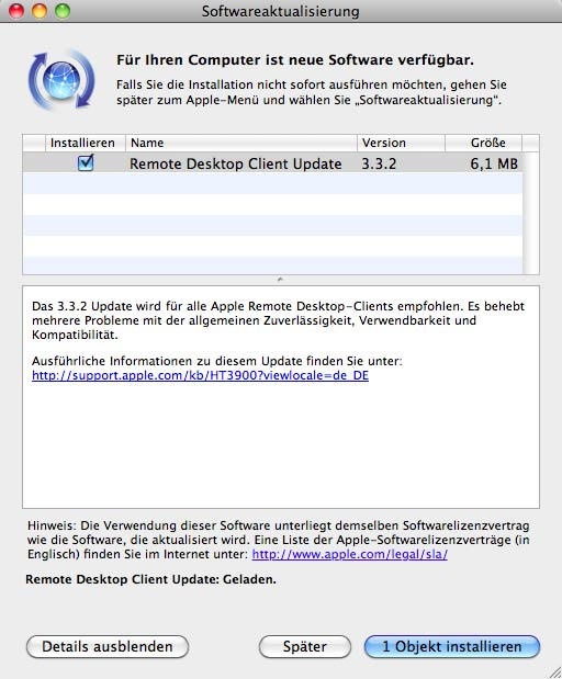 Apple Remote Desktop Client + Logic Pro Update • Apfelmag com