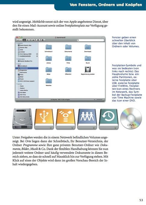 Rezension – Das Grundlagenbuch zu Mac OS X 10.6 Snow Leopard von Daniel Mandl