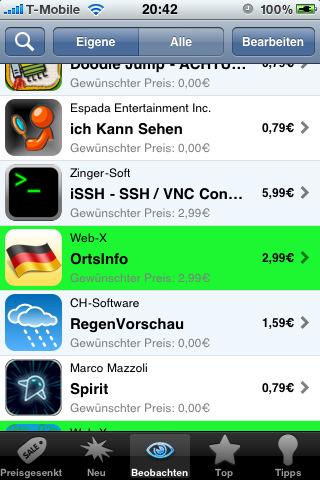 Gewinnspiel – Vier Codes für die AppTicker Push App
