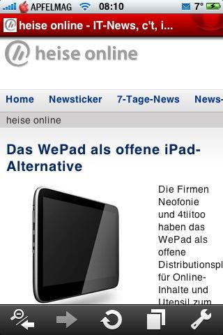 Opera Mini für iPhone und iPod touch verfügbar
