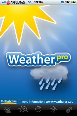 Gewinnspiel – Weather Pro App für dein iPhone