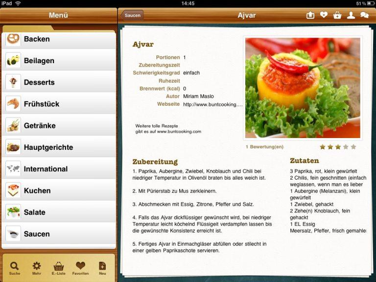 Gewinnspiel – Kochen mit dem iPad und Cookiza!