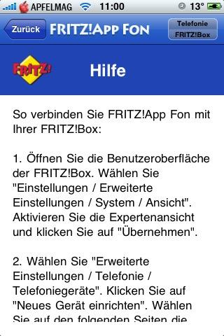 Die FRITZ!App ist da!