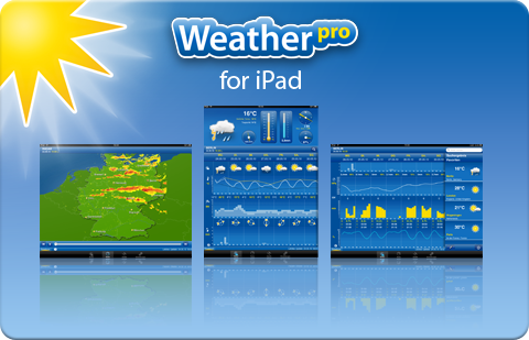 Weather Pro iPad Teaser Gewinnspiel   Weather Pro for iPad