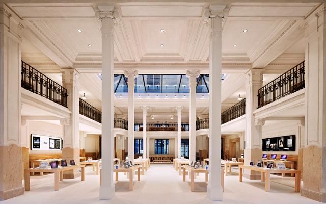 Neues europäisches Apple Store Flaggschiff