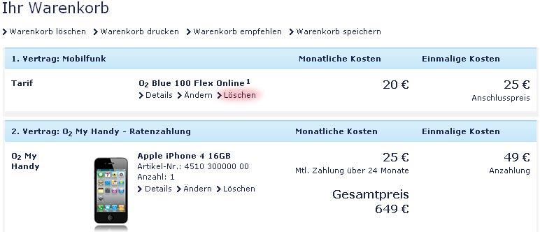 Der Iphone 4 Verkausstart Und Die Bestellung Bei O2 Apfelmagcom