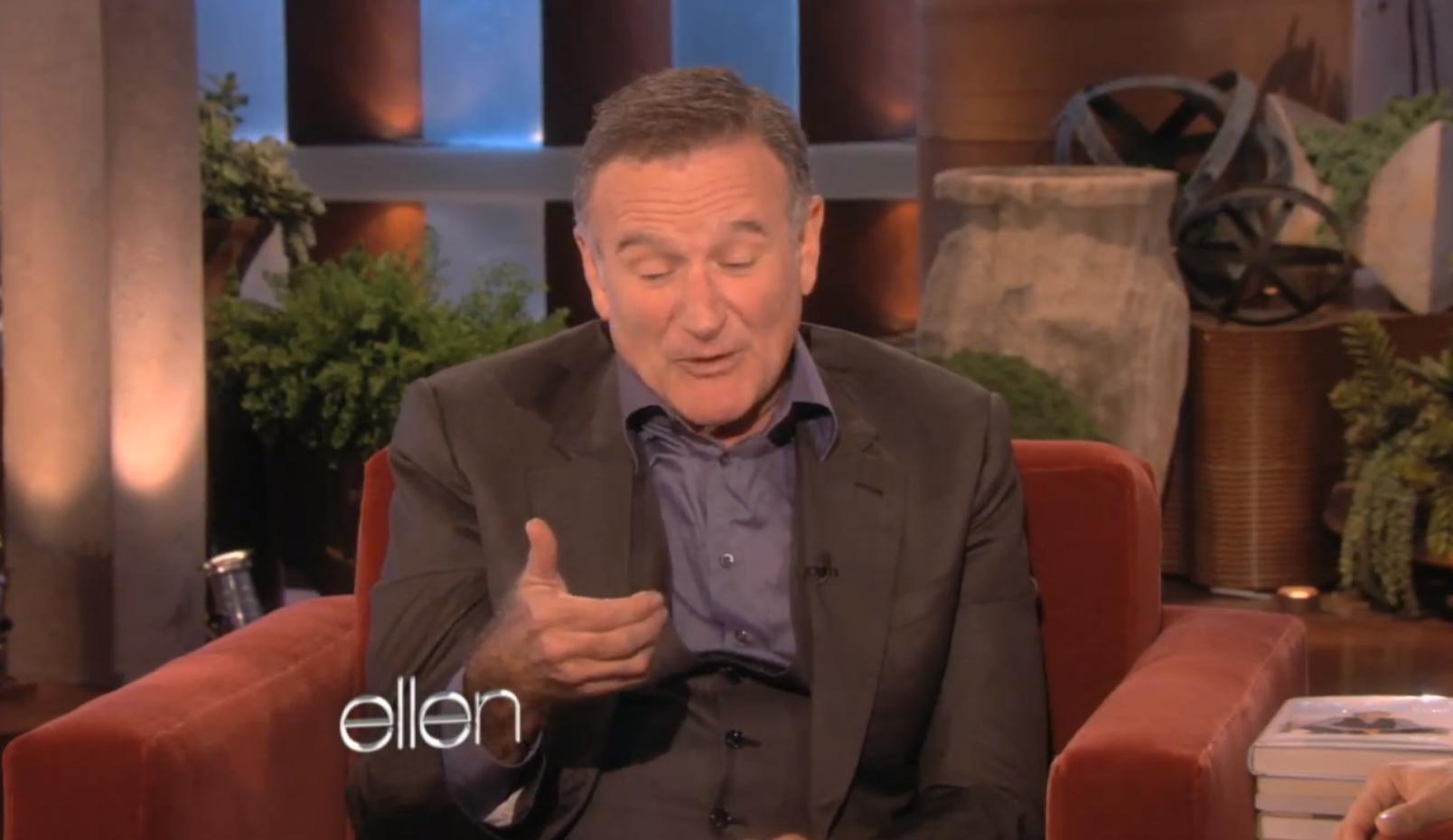 Robin Williams vs. Siri