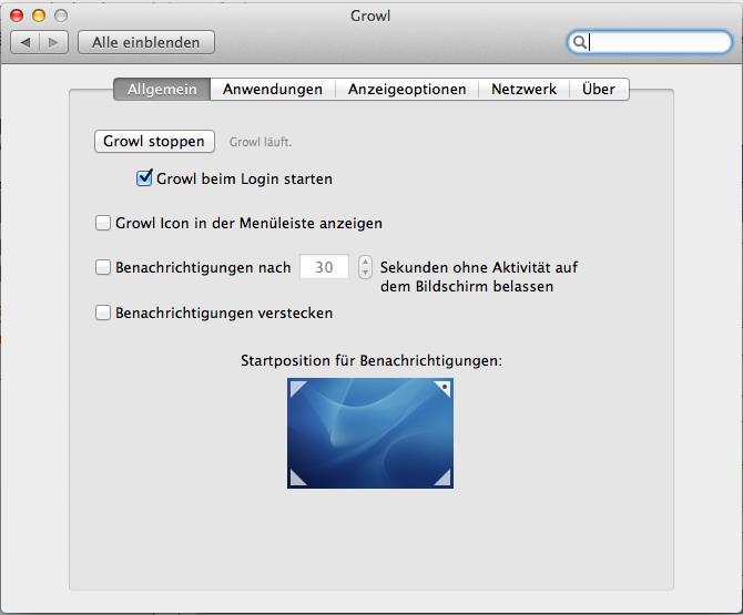 Growl Fork bringt Growl Benachrichtigungen für Mac OS X Lion for Free