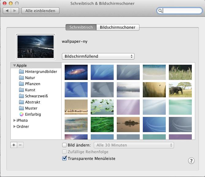 [HowTo] Desktop-Hintergrund automatisch ändern Mac OS X