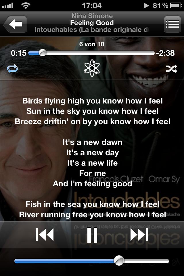 Songtexte auf iPod touch und iPhone anzeigen lassen