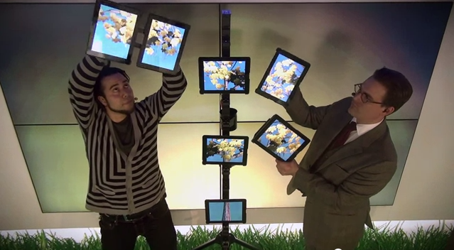 New iPad Act – Stockholm with Charlie Caper and Erik Rosales