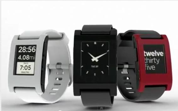 RunKeeper erste Fitness app für die Pebble Armbanduhr