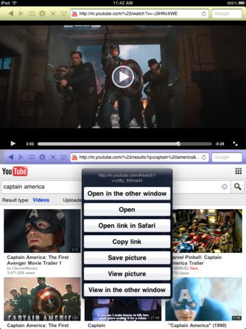 Dual Browser für das iPad heute kostenlos!