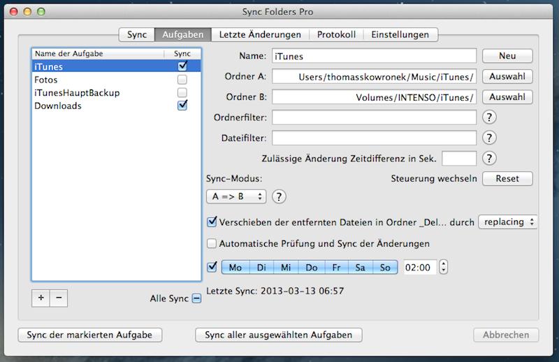 Sync Folders Pro, die bessere Backup Lösung!?
