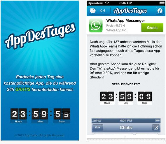 """App des Tages"" jeden Tag eine App for Free"