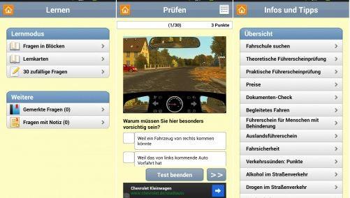 Aktuell Gratis: Autoführerschein 2013 (Android)