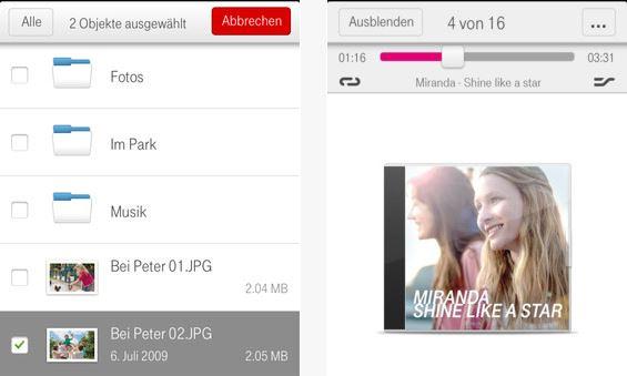 Deutschen Telekom bietet nun 25 Gigabyte an Onlinespeicher