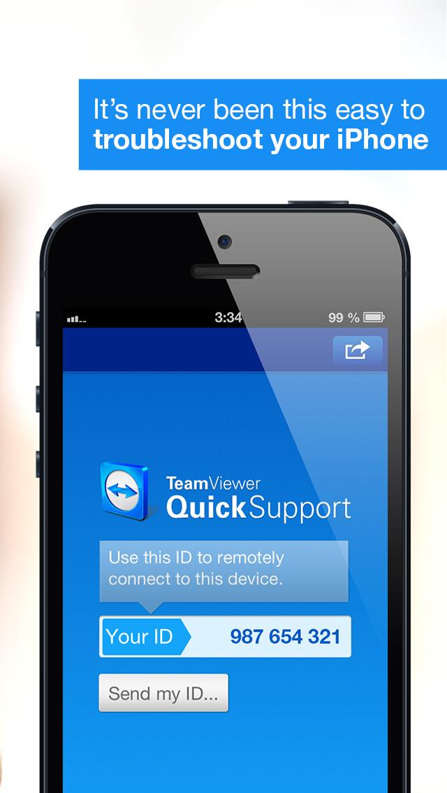 Teamviewer nun auch endlich für iPhone und Co.