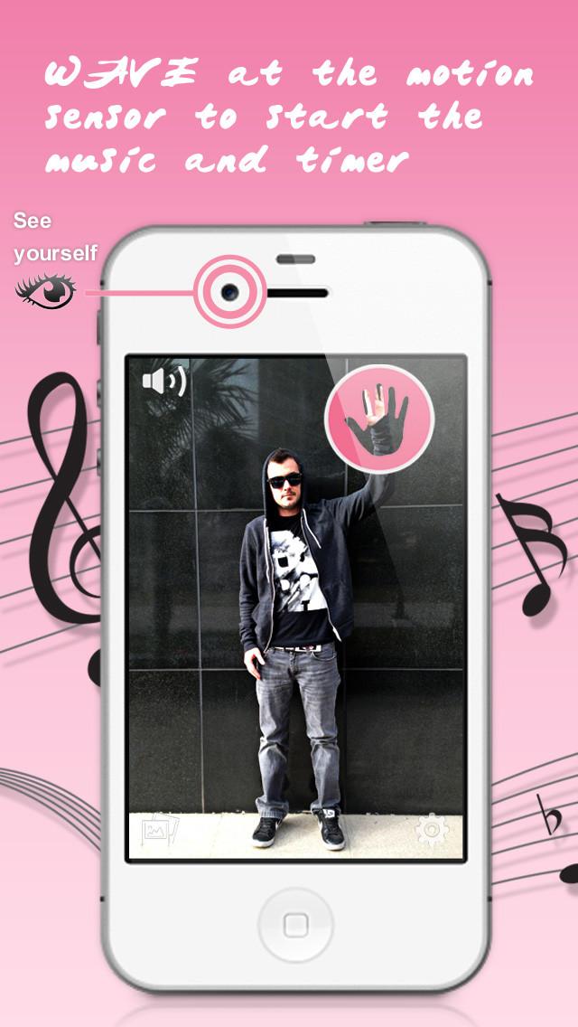 "Fernauslöser-Foto-App ""Wave Cam"" heute kostenlos"