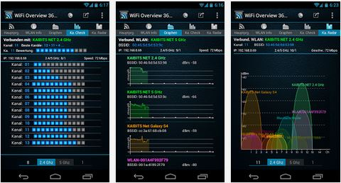 WiFi Overview 360 – WLan Verwaltung (Android)