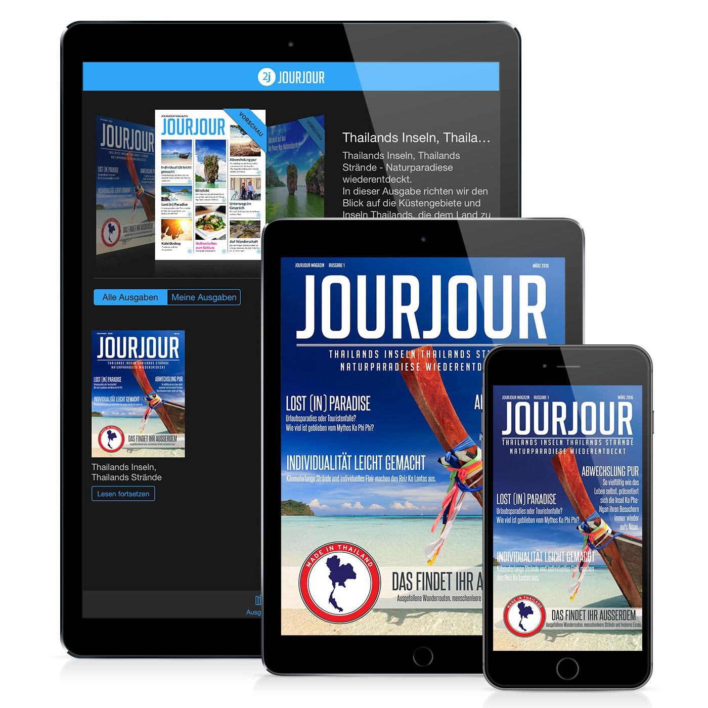 Ein neues Magazin zum Thema Reisen für Smartphone und Tablet