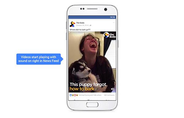 Autoplay Sound für Facebook-Videos und wie ihr es deaktiviert
