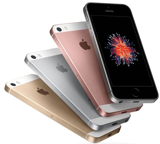 Apple iPhone SE Farben