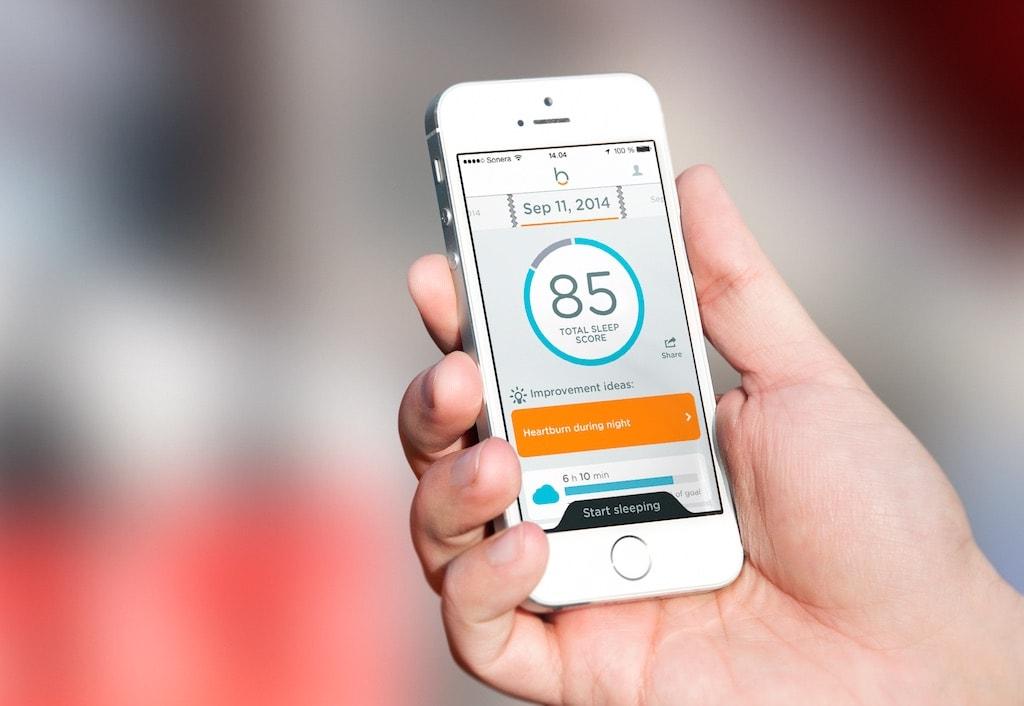 Beddit App Sleep Score