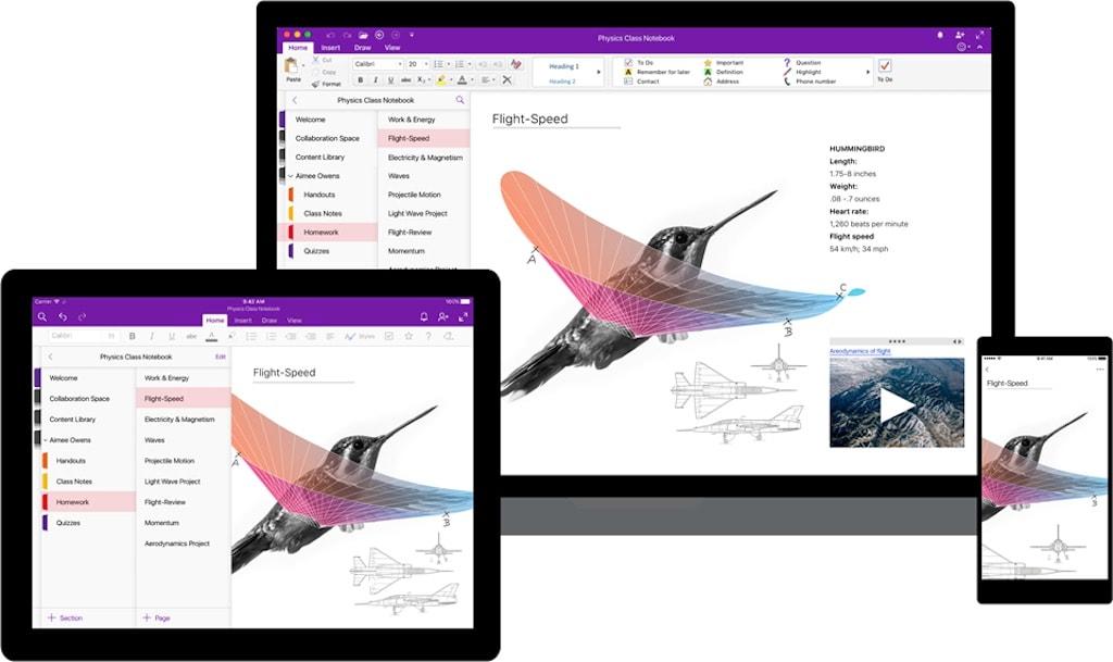 Neues OneNote Update vereinheitlicht das Design
