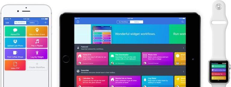 Apple übernimmt Workflow, App nun kostenlos