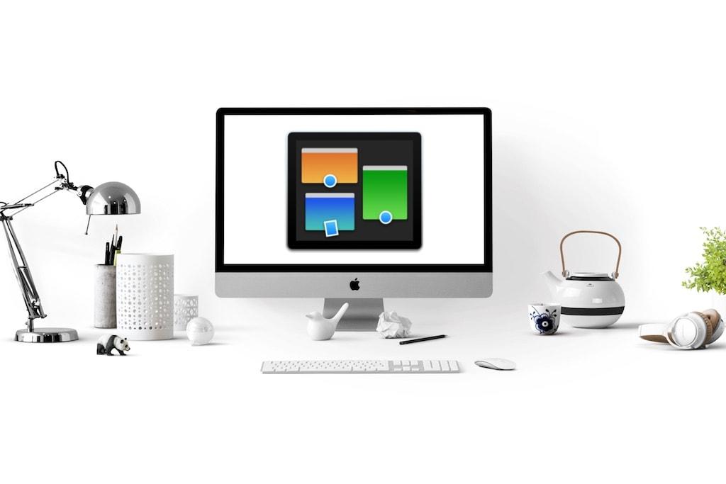 iMac mit Mission Control Icon