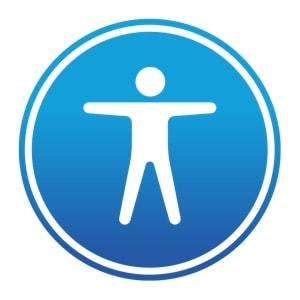 macOS Bedienungshilfen Logo