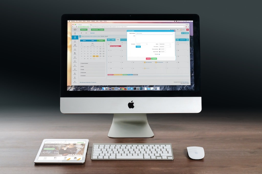 Apple iMac und iPad Design