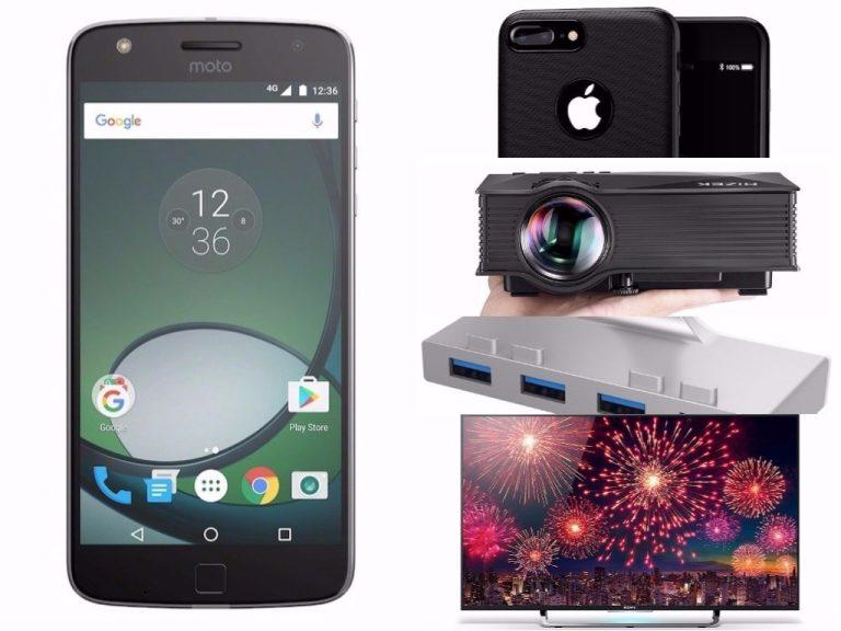 Beamer, Fernseher und Smartphones, das sind die heutigen Amazon Deals