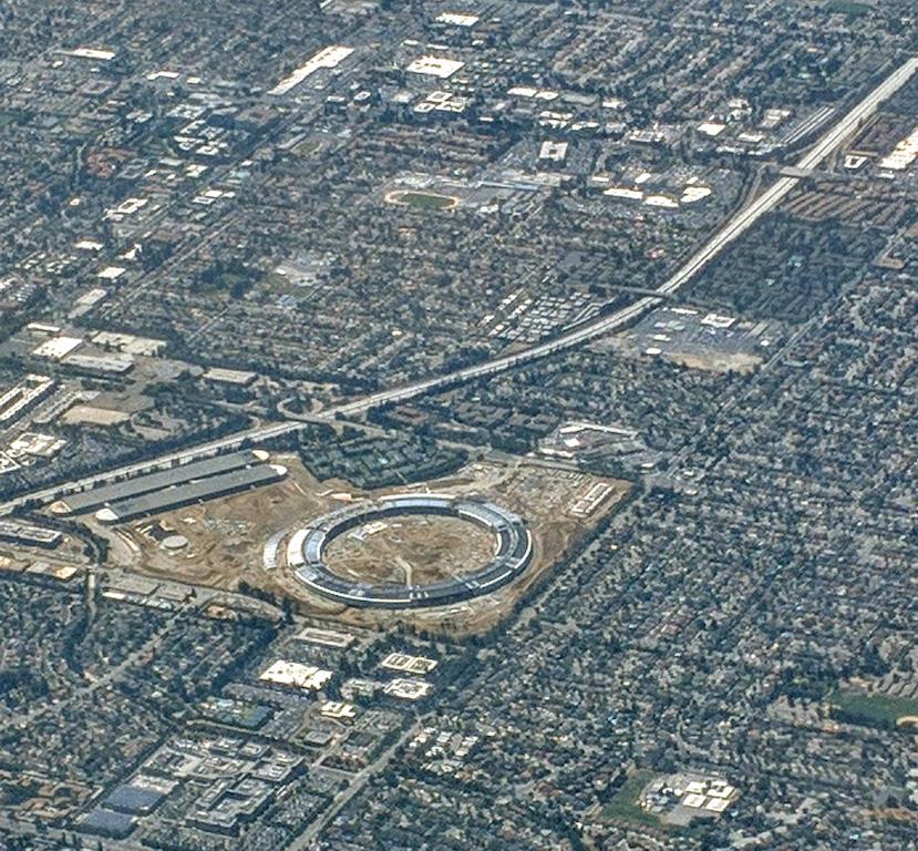 Apple Park von oben