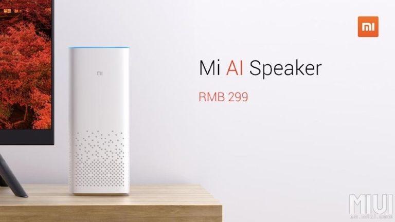 Xiaomi MI AI Speaker – der Sprachassistent für unter 50€