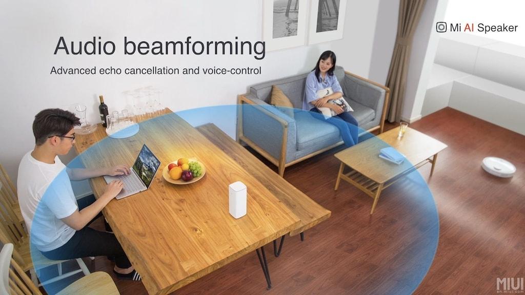 Xiaomi Mi AI Speaker im Raum