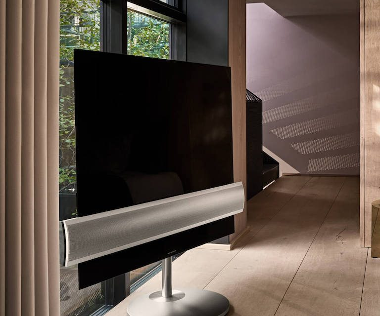 lg und bang und olufsen beovision eclipse tv ein. Black Bedroom Furniture Sets. Home Design Ideas