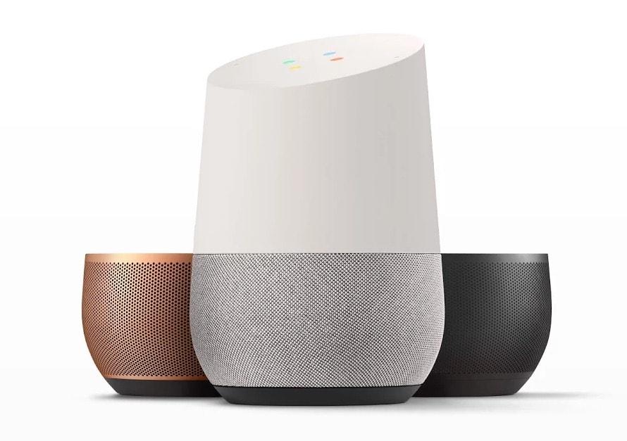 Google Home Farben