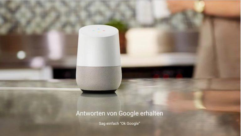Google Home – jetzt auch in Deutschland verfügbar