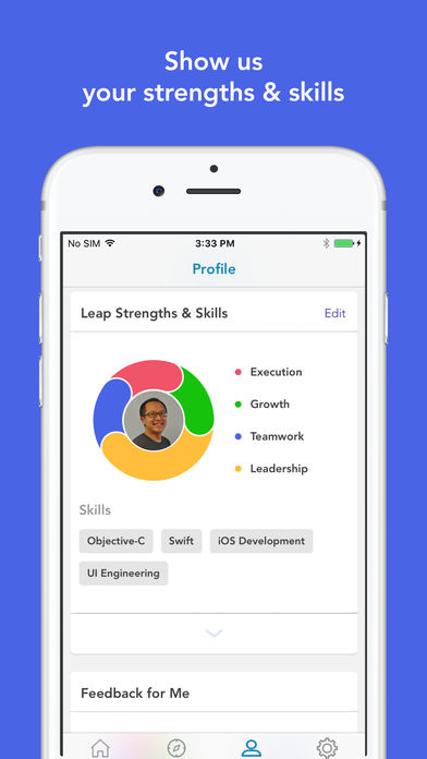 leap.ai strenghts and skills