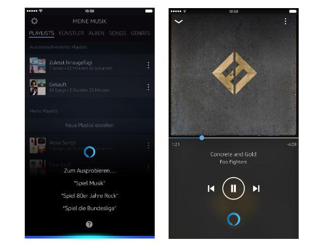 Amazon Music mit Amazon Alexa