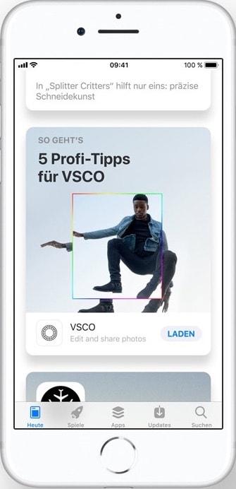 App Store Redesign Heute Tipps und Tricks