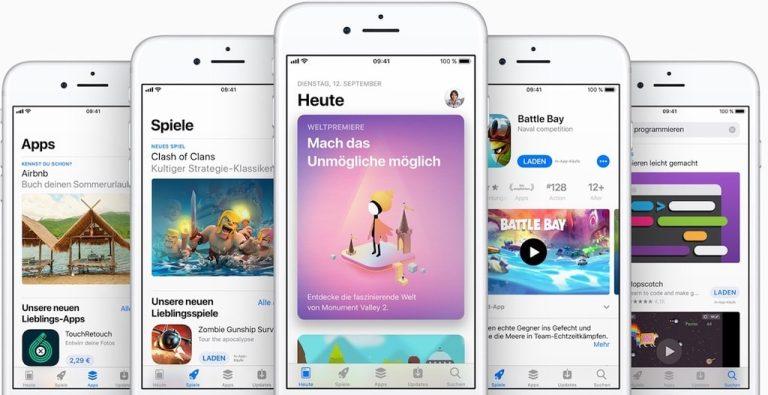 Der neue Apple App Store ist da!
